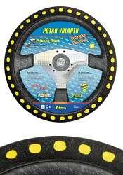 Potah volantu SOFT, žlutý Compass