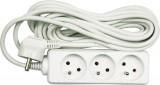 Kabel prodlužovací 3 m 5 zásuvek typ E