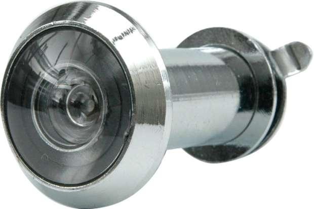 Kukátko do dveří 35 - 50 mm 200° stříbrné Vorel