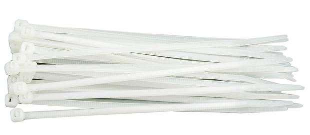 Páska stahovací 75 x 2,4 mm 100 ks bílá Vorel
