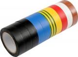 Páska PVC 15 x 0,13 mm x 10 m 10 ks barevné