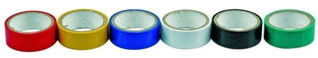Páska PVC 19 x 0,13 mm x 3 m 6 ks barevné Vorel