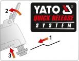 Nabíječka 1A/6V 4A/12V gel/procesor Yato