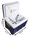 Chladící box 50l 230V/12V pojízdný Compass