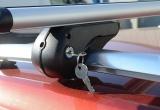 Příčný nosič zamykací hliníkový 120cm ALU-TOP TÜV Compass
