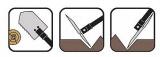 Lopatka multifunkční skládací Vorel