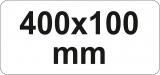 Svěrka 400 x 100 ráčnová Yato