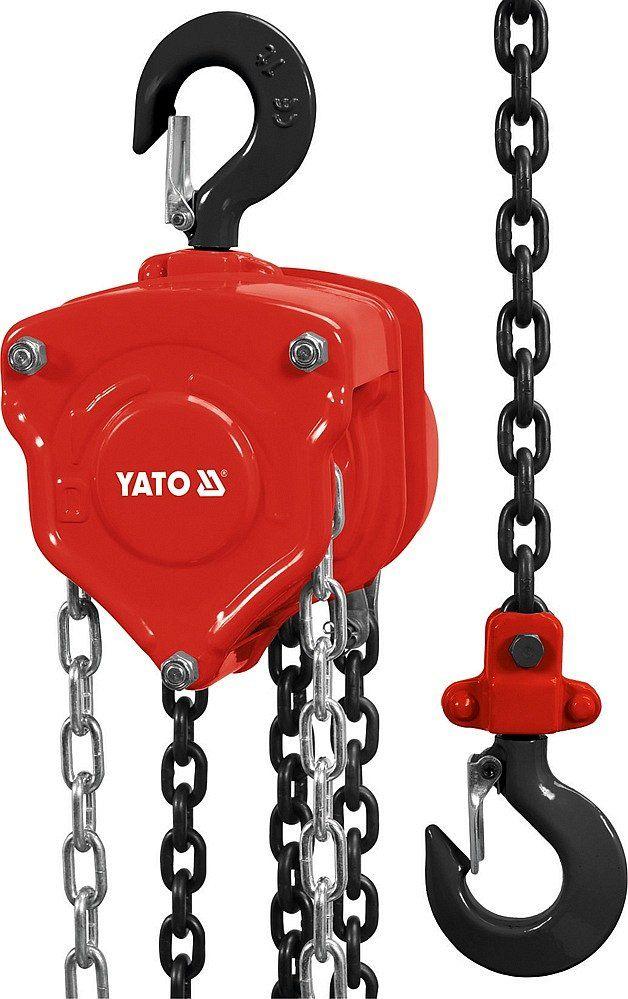 Zvedák řetězový 2t Yato