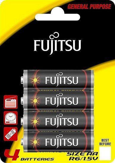 Baterie zinková AA blistr 4ks Fujitsu