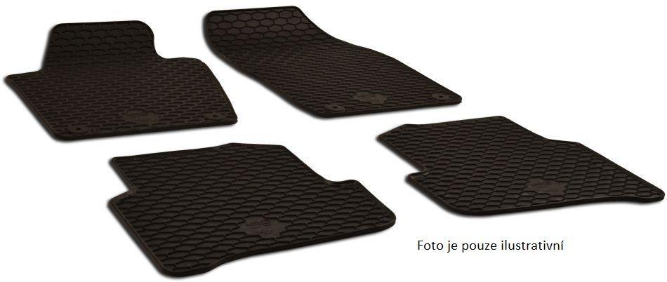 Koberce gumové Škoda FABIA III. Combi 2014 - sada 4 ks ZPV Rožnov