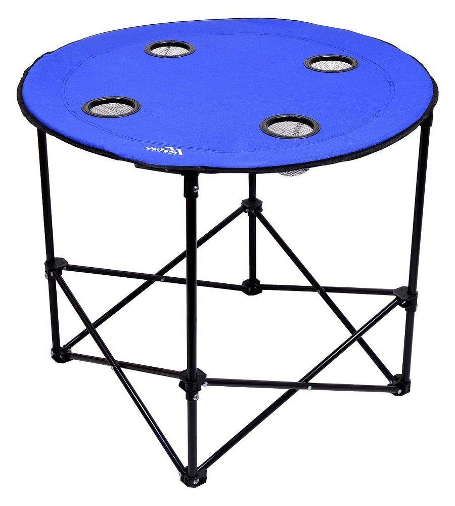 Stůl kempingový skládací SPLIT modrý Cattara