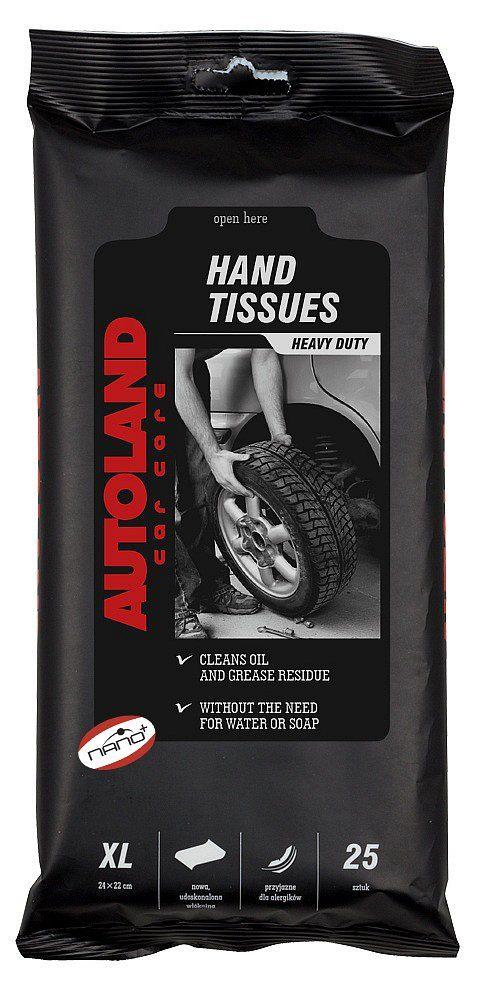 Ubrousky XL na ruce NANO+ 25ks Autoland
