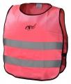Vesta výstražná růžová dětská S.O.R. EN 1150:1999