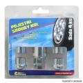 Pojistné matice kol F M12x1,25 kuželové sedlo Audi Rover Seat Škoda Volvo VW Compass