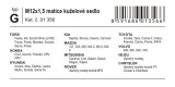 Pojistné matice kol G M12x1,50 kuželové sedlo Ford Honda Hyundai Kia Mazda Mitsubishi Rover Toyota Volvo Isuzu Chrysler Compass
