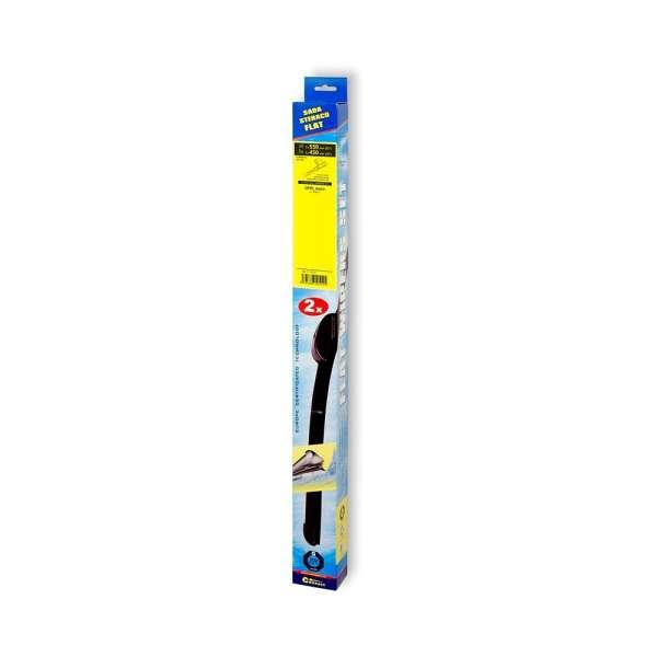 Stěrače FLAT SET (PIN) 550+450mm