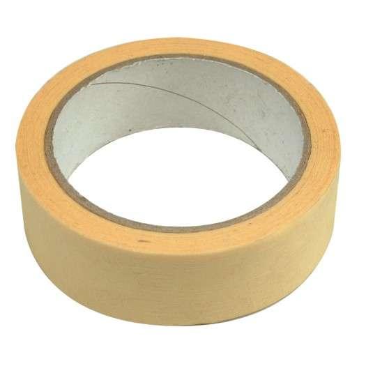 Páska samolepící papírová 25 mm x 25 m Vorel