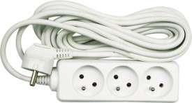 Kabel prodlužovací 5 m 3 zásuvky typ E Vorel