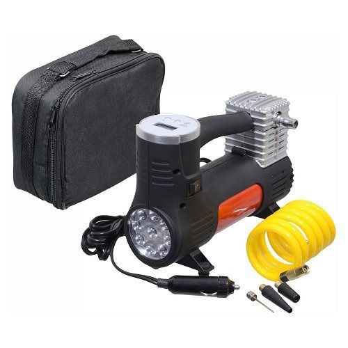 Kompresor 12V POWER BULL s LED světlem Compass