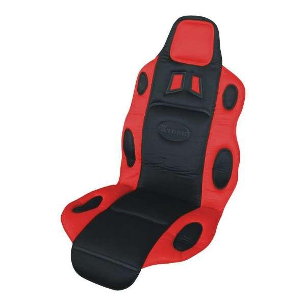 Potah sedadla RACE černo-červený Compass