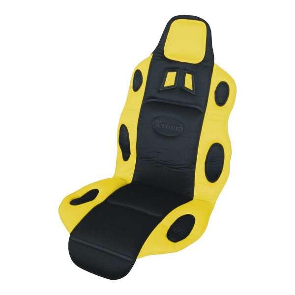Potah sedadla RACE černo-žlutý Compass