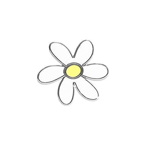 Znak SMALL FLOWER samolepící PLASTIC Compass
