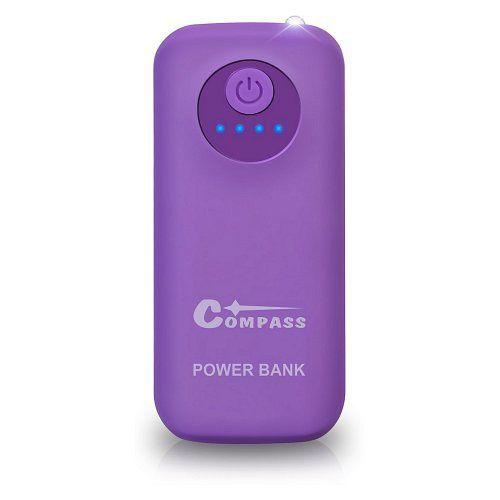 POWER BANK 5200mAh + 30cm kabel Compass
