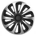 "Kryty kol 16"" CALIBER Carbon (sada) silver/black"