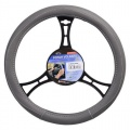Potah volantu CLASSIC šedý Compass