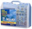 Žárovky 12V servisní box MEGA H1+H7+pojistky Compass