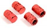 Ozdobné kryty ventilků červené Compass