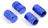 Ozdobné kryty ventilků modré Compass