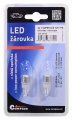 Žárovka 1SUPER LED 12V T10 bílá 2ks Compass