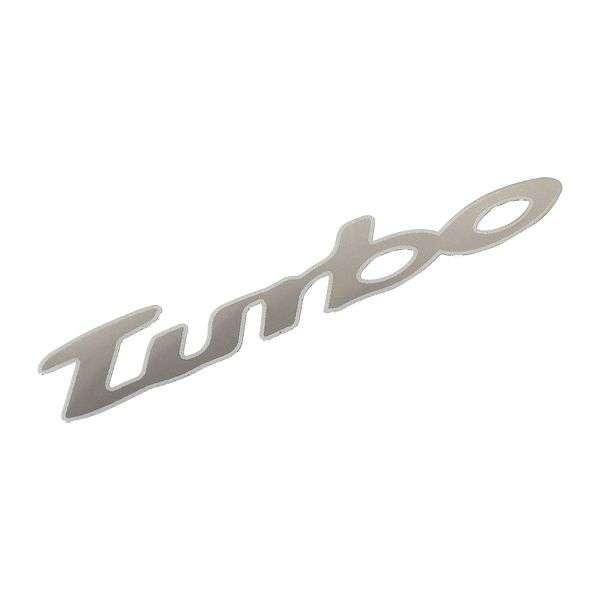 Znak TURBO samolepící METAL velký Compass
