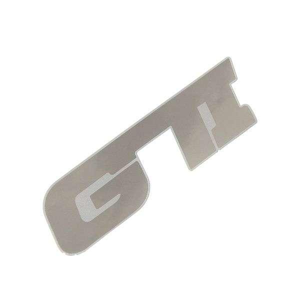 Znak GTI samolepící METAL velký Compass