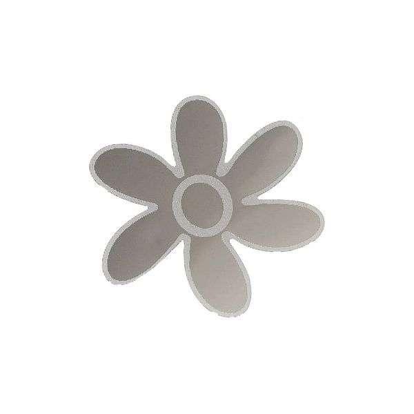 Znak SMALL FLOWER samolepící METAL malý Compass