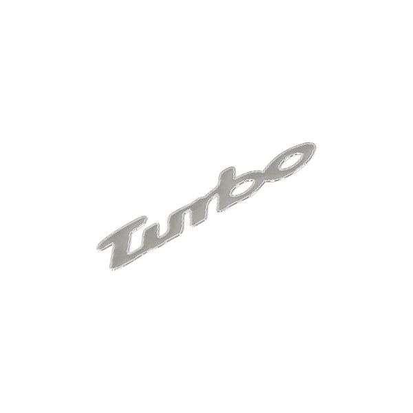Znak TURBO samolepící METAL malý Compass