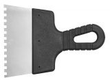 Špachtle 150 mm malířská nerez zuby 8 x 8 mm Vorel