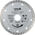 Kotouč diamantový 125 x 22,2 x 2,0 mm turbo Vorel