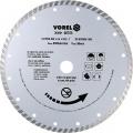 Kotouč diamantový 230 x 22,2 x 2,4 mm turbo Vorel