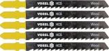 List do přímočaré pily 100 mm na dřevo, plast a dřevotříska TPI8 5 ks Vorel