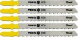 List do přímočaré pily 100 mm na dřevo TPI10 5 ks Vorel