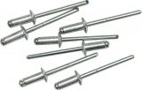 Nýt hliníkový 4,8 x 6,4 mm 50 ks Vorel