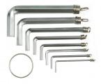 Sada klíčů imbus 10 ks 1,5 - 10 mm CrV Vorel