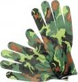Rukavice zahradní tmavá kamufláž dub vel. 8