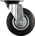 Kolečko otočné, gumové 100kg 125/34/155mm Vorel