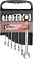 Sada klíčů očkoplochých 7ks 10-19 mm ráčnové Yato