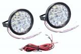 Světla denního svícení kulatá 18 LED/12V Compass
