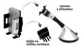 Držák telefonu / GPS na přísavku SILVER Compass