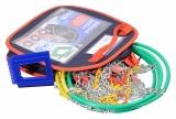 Sněhové řetězy X70 3,0mm 9mm NYLON BAG rychloupínací sada 2 ks Compass